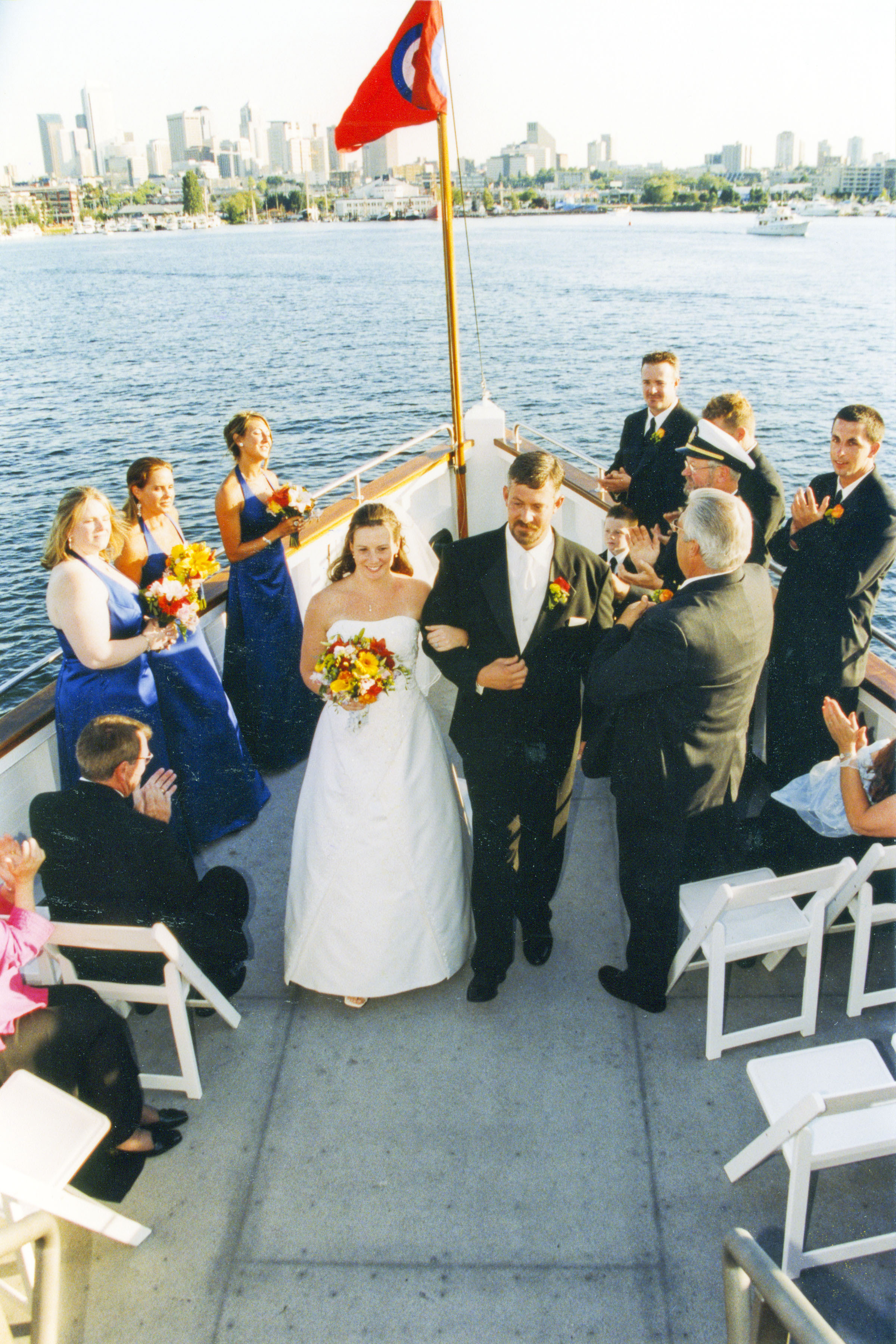 Ceremony, Flowers & Decor, Destinations, Cruise, Boat, Ship, Virginia v steamship