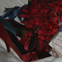 Flowers & Decor, Jewelry, Shoes, Fashion, red, blue, Necklaces, Accessories, Flowers, Purse, Necklace, Flower Wedding Dresses