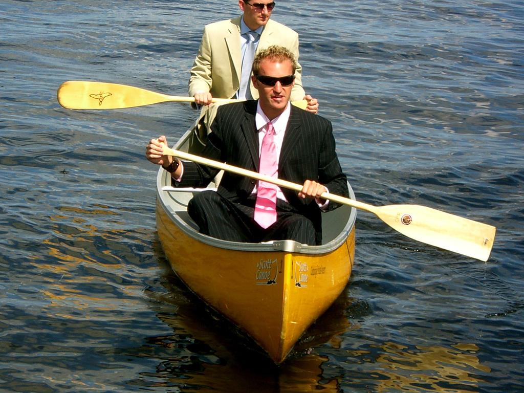 Groomsmen, Canoe