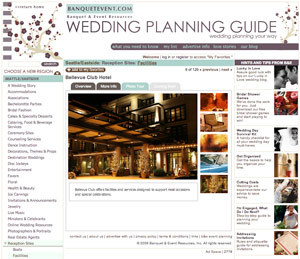 Planning, Venues, Wedding, Seattle, Photographers, Guide, Banqueteventcom, Resources, Florists, Facilities, Resource