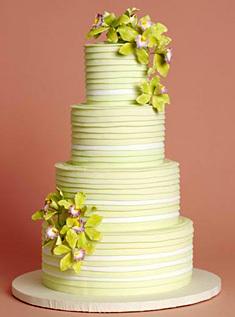 Cakes, green, cake, Modern, Modern Wedding Cakes