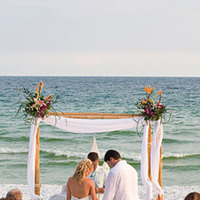 Ceremony, Flowers & Decor, Beach, Beach Wedding Flowers & Decor, Weddings, Florida, Candice k photography, Destin
