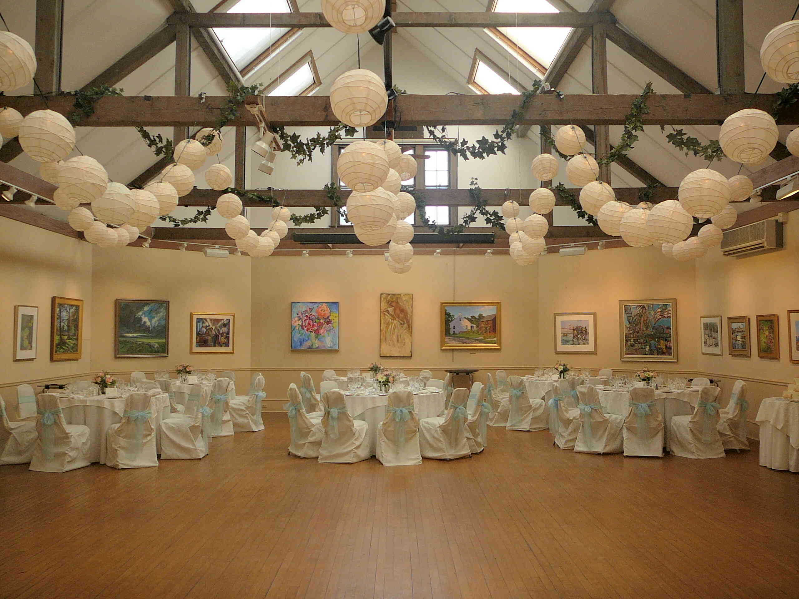 Reception, Flowers & Decor, Lanterns, Decorations, Rockport art association