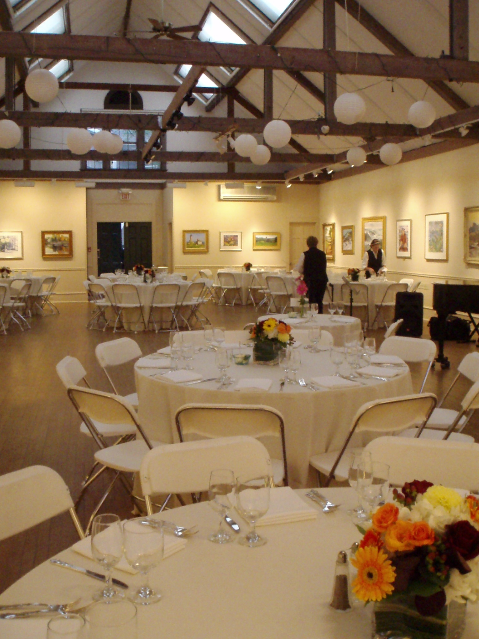 Reception, Flowers & Decor, Elegant, Lanterns, Simple, Rockport art association