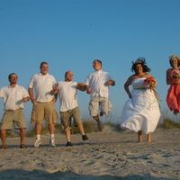 Ceremony, Flowers & Decor, Beach, Beach Wedding Flowers & Decor, Wedding, Island, Broom, Tybee island wedding, Tybee