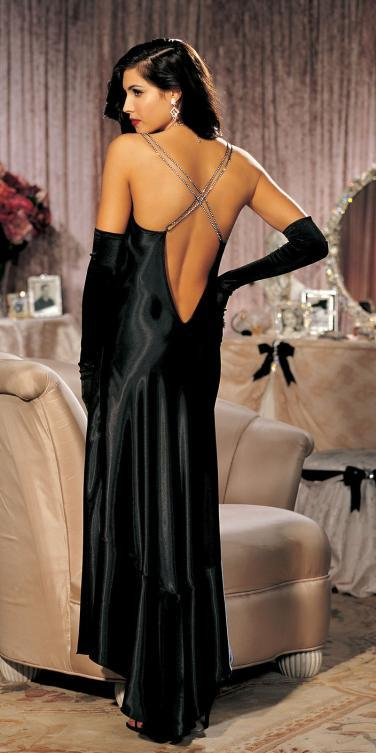 black, Vintage, Gown, Glamorous, Lingerie, Boudoir, Sexy, Inspired