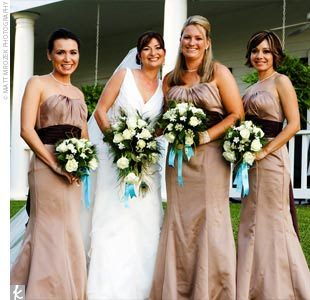 Bridesmaids, Bridesmaids Dresses, Wedding Dresses, Fashion, brown, dress, Taupe
