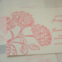 Stationery, Invitations, Cards, Wedding, Gocco, Print, Screen, Save the date cards, Inks, Illustrations, Flat cards