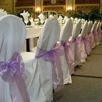 Chair covers sashes by party pros