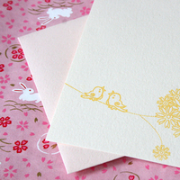 Stationery, Invitations, Cards, Wedding, Gocco, Print, Screen, Inks, Illustrations, Flat cards