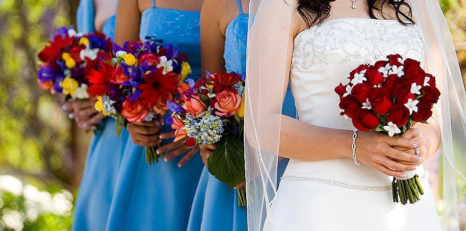 Flowers & Decor, Bridesmaids, Bridesmaids Dresses, Fashion, Bride Bouquets, Bridesmaid Bouquets, Flowers, Bouquet, Artistic, Cropped, Flower Wedding Dresses
