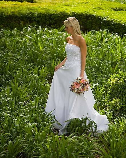 Flowers & Decor, green, Garden, Bride, Blonde, Peace, Field