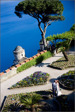 Destinations, venue, Europe, Bride, Groom, Wedding, Romantic, Ocean, Coastal, italy, Coast, View, Italian, Sea, Amalfi, Ravello, Reportage, Panoramic