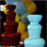 blue, Fountain, Chocolate, Tiffany, Fondue4youcom