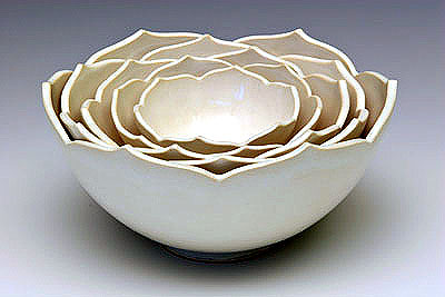 Flowers & Decor, Decor, white, Whitney smith pottery
