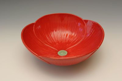 Flowers & Decor, Decor, red, Flowers, Whitney smith pottery