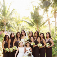 Bridesmaids, Bridesmaids Dresses, Wedding Dresses, Beach Wedding Dresses, Destinations, Fashion, dress, Mexico, Beach, Destination, Strapless, Strapless Wedding Dresses, Plus, Michelle nathan