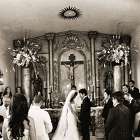 Ceremony, Flowers & Decor, Destinations, Mexico, Beach, Beach Wedding Flowers & Decor, Destination, Catholic, Unity, Marriage, Michelle nathan
