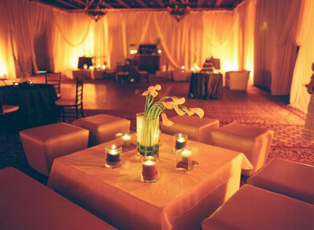 Reception, Flowers & Decor, Decor, Destinations, white, Mexico, Beach, Candles, Beach Wedding Flowers & Decor, Calla, Lilies, Destination, Votives, Michelle nathan