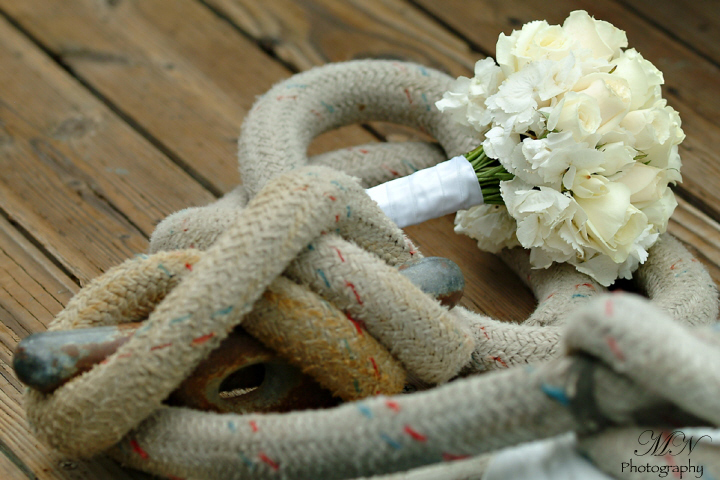 Bouquet, The, On, dock