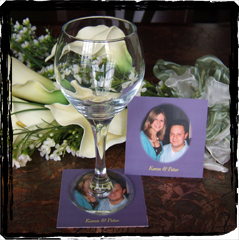 Reception, Flowers & Decor, Favors & Gifts, Paper, favor, Weddings by colortech inc, Coaster, Booking, Scrap