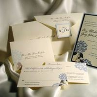 Stationery, invitation, Garden Wedding Invitations, Invitations, Wedding, Custom, Hand, Hydrangea, Njoidesigns, Sewn