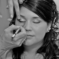 Beauty, white, black, Makeup, Bridal, And, Photo, Getting, Ready, Peparation