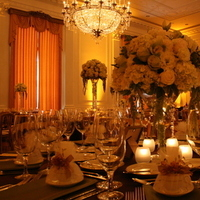 Flowers & Decor, Centerpieces, Lighting, Flowers, Centerpiece, Napkins, Satin, Linen, Library, Richard, Nixon, Specialty, Persiano events