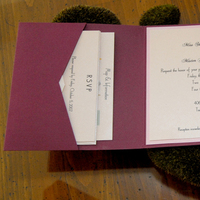 Stationery, pink, burgundy, invitation, Invitations, Cream