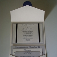 Stationery, silver, invitation, Invitations, Wedding, Cream, Navy