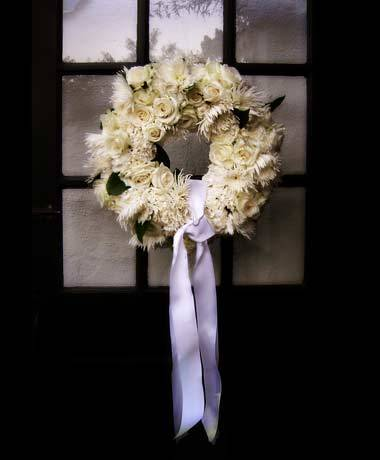 Flowers & Decor, white, Flowers, Wedding, Wreath, Door, Inn, Awesomeshot studios, Muir
