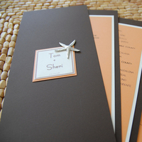 Stationery, orange, brown, invitation, Invitations, Cream, Paper monkey