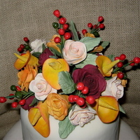 Flowers & Decor, Cakes, cake, Flower, Wedding, Calla, Lilies, Rose, Lily, Top, Sugar, Sugar flower shop