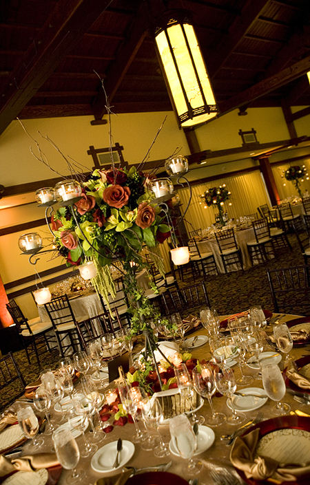 Centerpiece, Creative delights event coordinators, The lodge at torrey pines