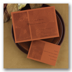 Stationery, orange, Invitations, Beautiful