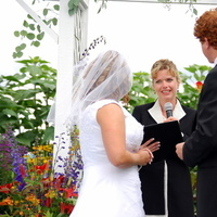Outdoor, Wedding, Minister, The radiant touch weddings