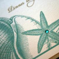 Stationery, Invitations, Seashell, Prim pixie