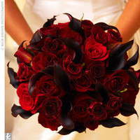 Flowers & Decor, red, Flowers, Brides bouquet