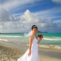 Destinations, Hawaii, Beach, Bride, Wedding, Oahu, Ainakai photography