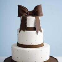Cakes, white, brown, cake, The cake girls