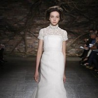 Wedding Dresses, Mermaid Wedding Dresses, Fashion, dress, Mermaid, Strapless, Strapless Wedding Dresses, Sleeves, Natural, Silk, Monique lhuillier, Waist, Cap, Silk Wedding Dresses