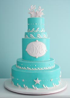 Cakes, blue, cake, Beach, Beach Wedding Cakes, The cake girls