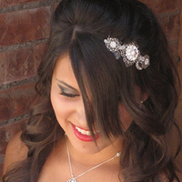 Bridal, Necklace, Filigree, Handmade, Amys bridal accessories