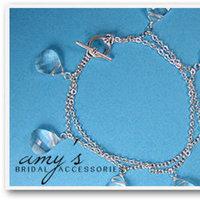 Jewelry, Bracelets, Bridal, Brides, Crystal, Bracelet, Swarovski, Amys bridal accessories, Briolette