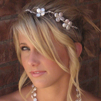 Necklace, Pearl, Coin, Amys bridal accessories