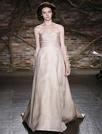Wedding Dresses, Sweetheart Wedding Dresses, A-line Wedding Dresses, Fashion, dress, Sweetheart, A-line, Natural, Silk, Monique lhuillier, Waist, Silk Wedding Dresses