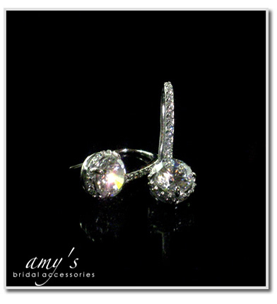 Jewelry, Earrings, Bridal, Rhinestone, Amys bridal accessories, Cz
