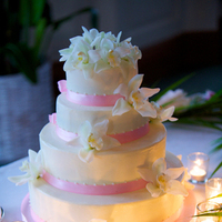 Reception, Flowers & Decor, Destinations, Hawaii, Wedding cake