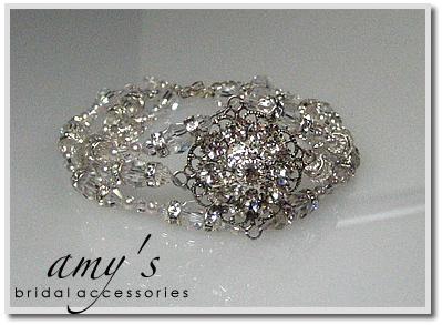 Jewelry, Bracelets, Bridal, Brides, Crystal, Bracelet, Rhinestone, Pearl, Cuff, Amys bridal accessories