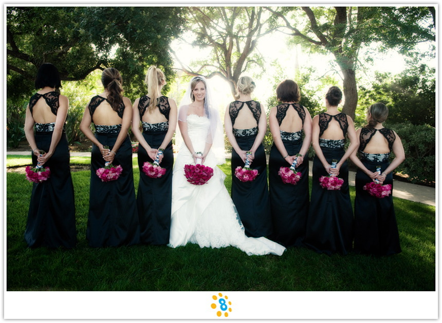 Bridesmaids, Bridesmaids Dresses, Fashion, Portraits, Party, Bridal, Bouquets